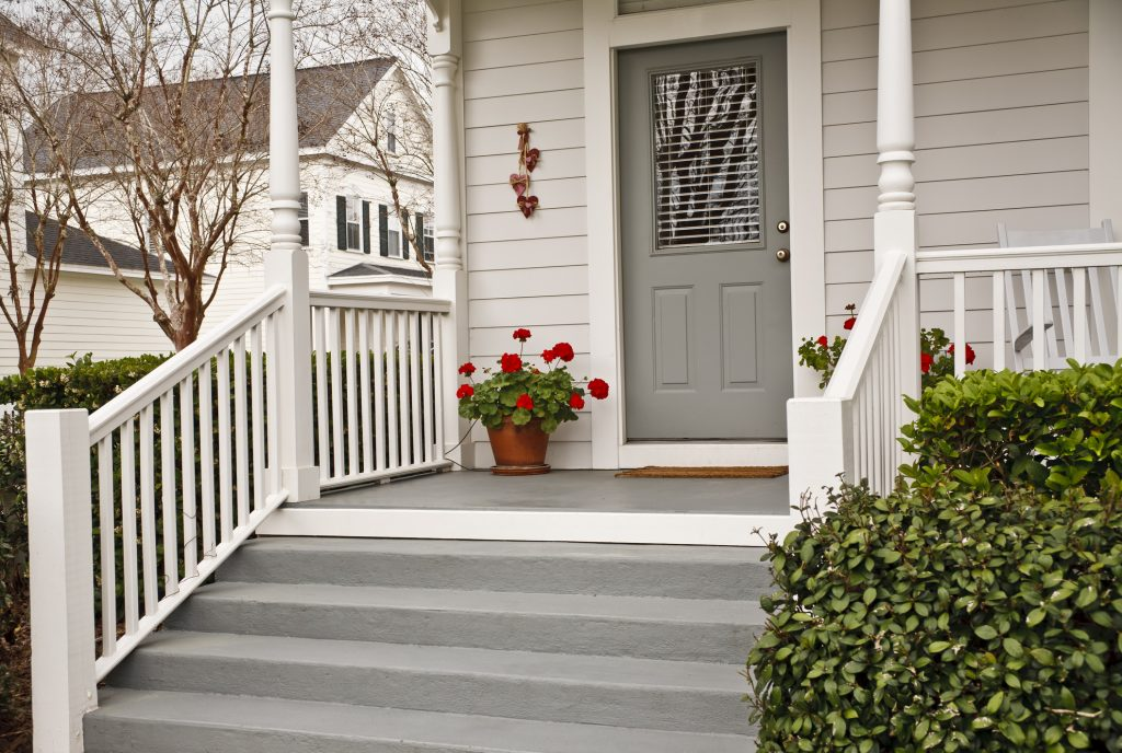 Bring some elegance to your front steps