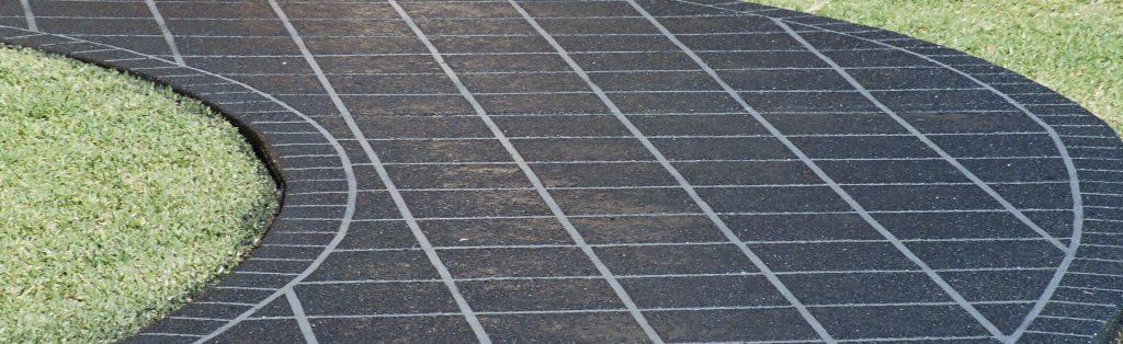 Designer Concrete Coatings Stencil Pattern Concrete